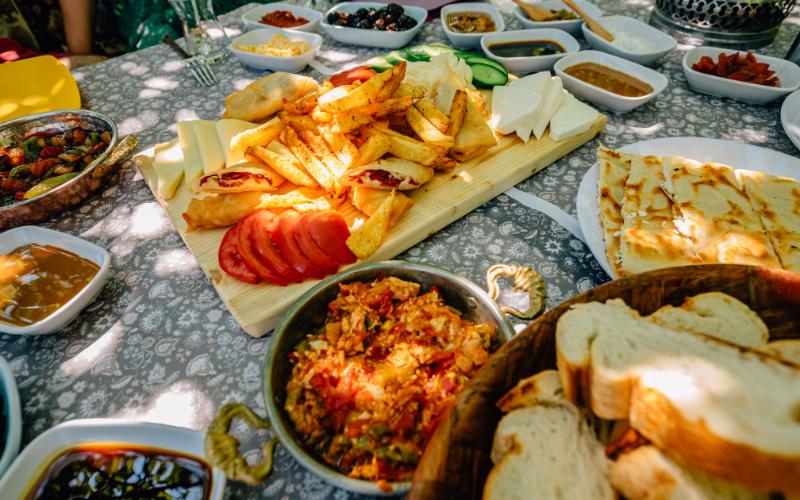 Denizli'nin meşhur kahvaltı mekanları